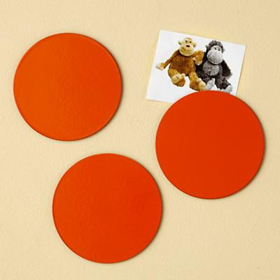 Orange Spot Magnets (Set of 3)