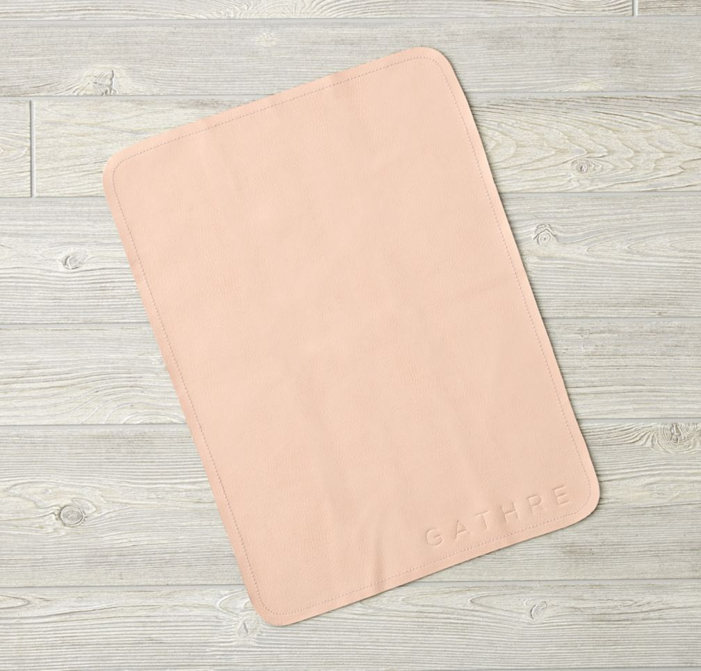 Light Pink Micro Gathre Mat