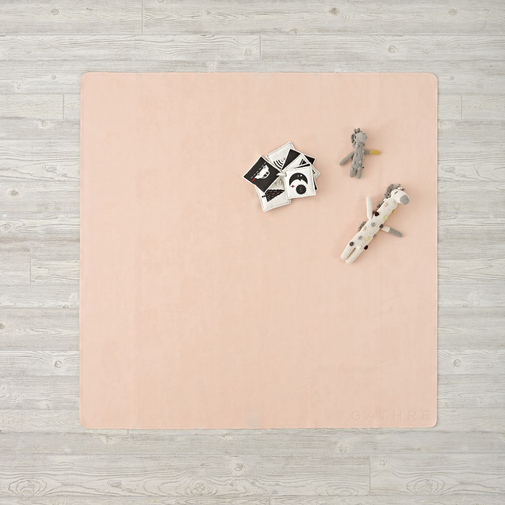 Light Pink Midi Gathre Mat