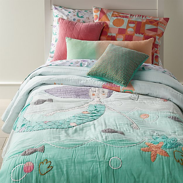 Twin Mermaid Mixer Quilt The Land Of Nod