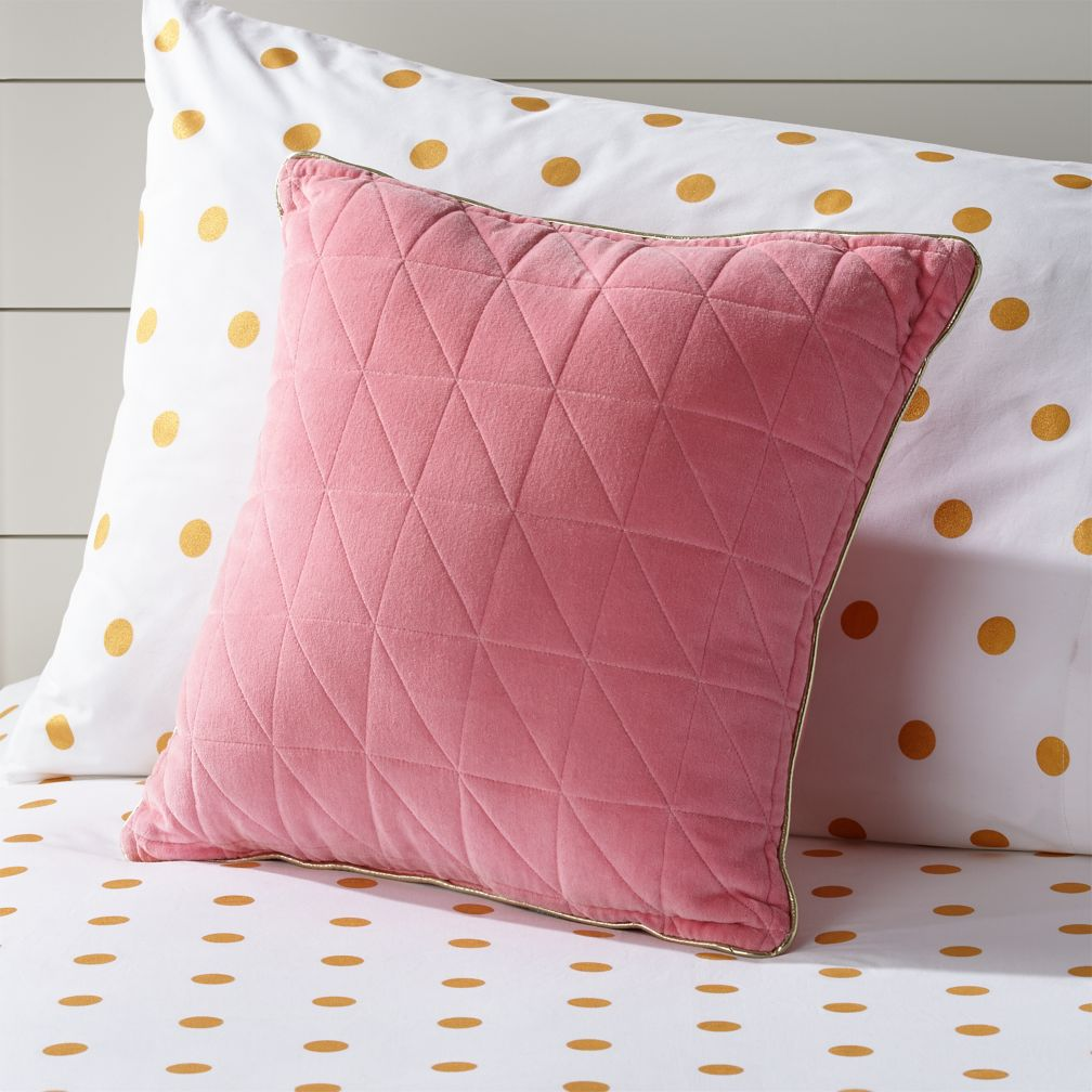 Quilted Throw Pillow The Land Of Nod