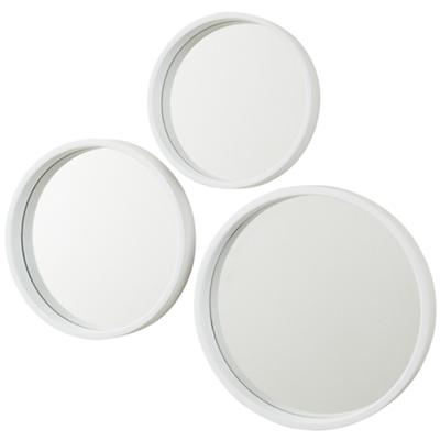 Ahoy There White Mirrors (Set of 3)