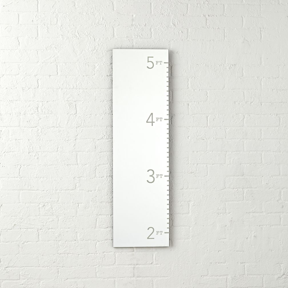Kids Mirror Growth Chart The Land Of Nod