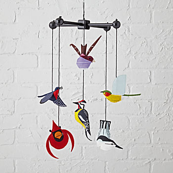 Charley Harper Bird Mobile