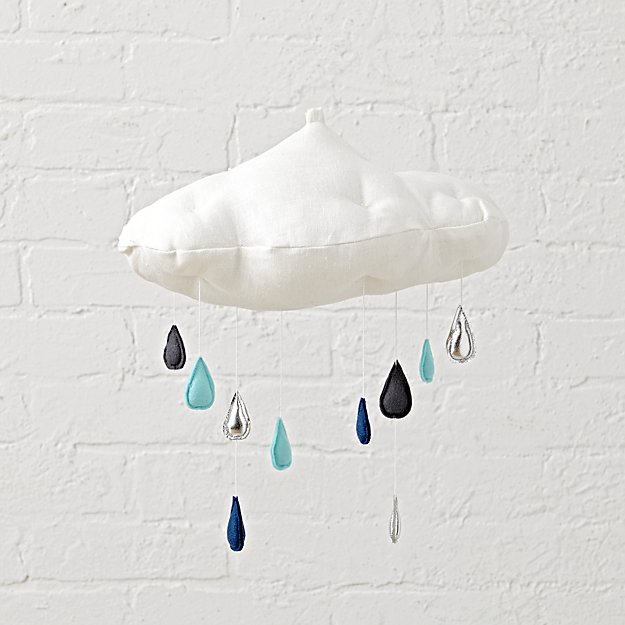 Luxe Raincloud Mobile