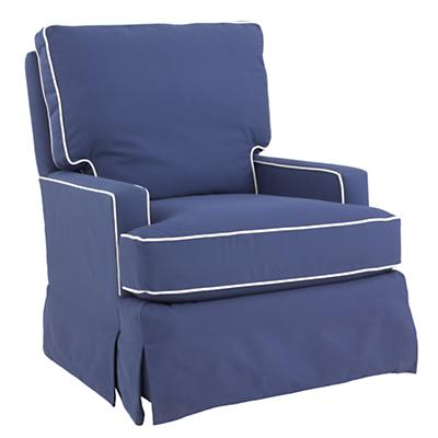 Mod Nod Swivel Glider (Slate Blue)