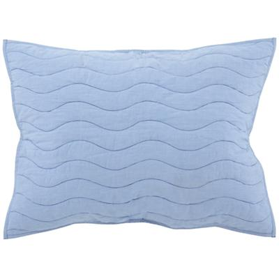 Lt. Blue Nautical Quilted Sham