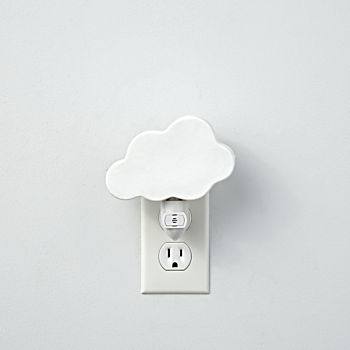 Porcelain Cloud Night Light
