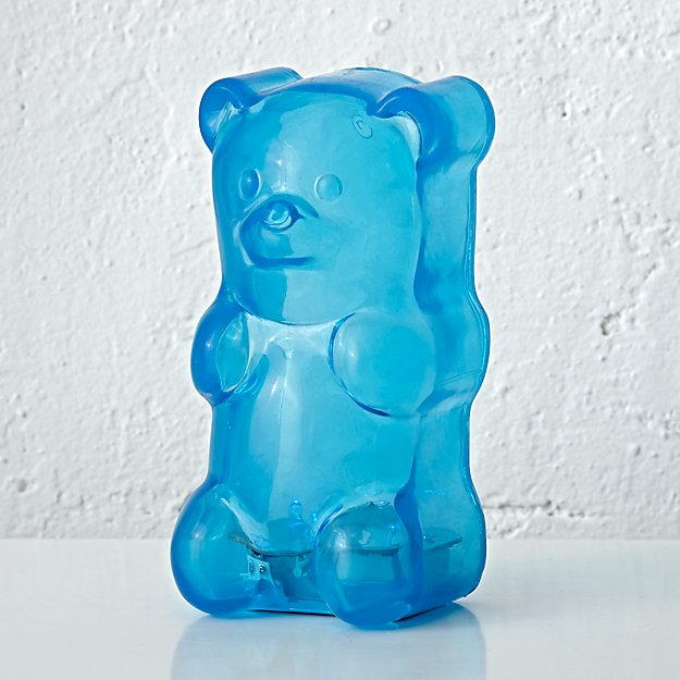 Gummy Bear Night Light (Blue)