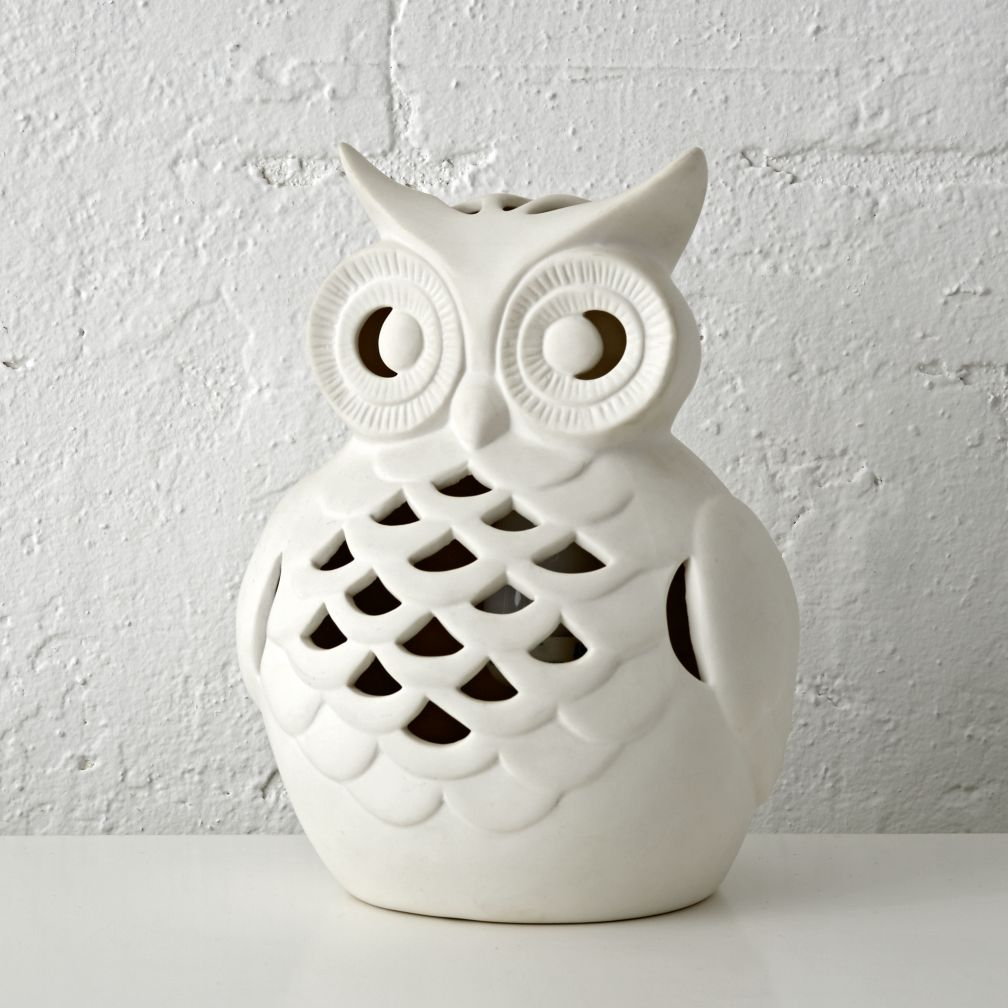 Night owl reading lamps - Wide Eyed Owl Night Light