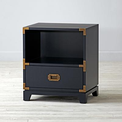Campaign Nightstand (Midnight Blue)