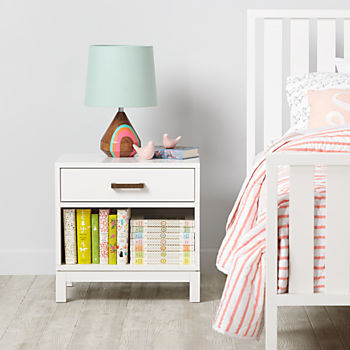 Cargo Nightstand (White)