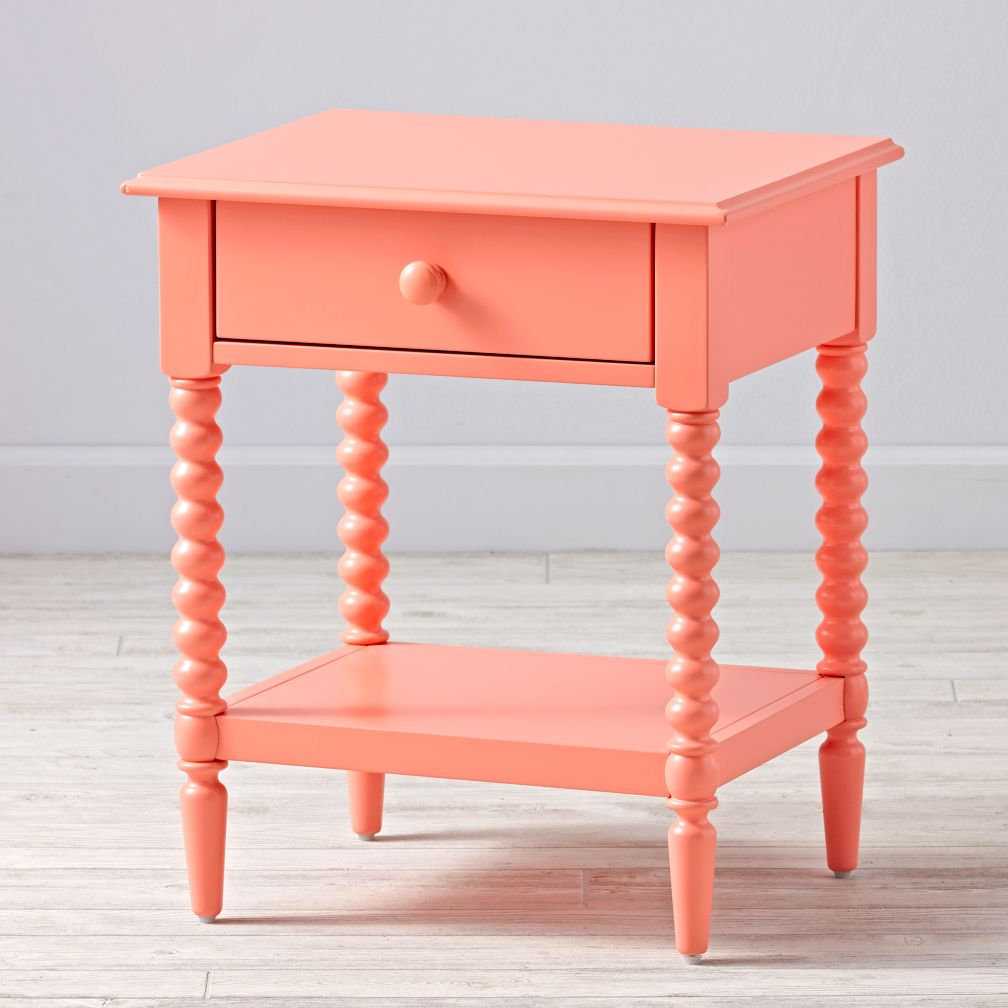 Jenny Lind Coral Nightstand