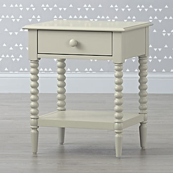 Jenny Lind Light Grey Nightstand