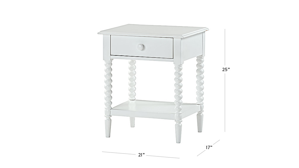 Jenny Lind White Nightstand The Land Of Nod