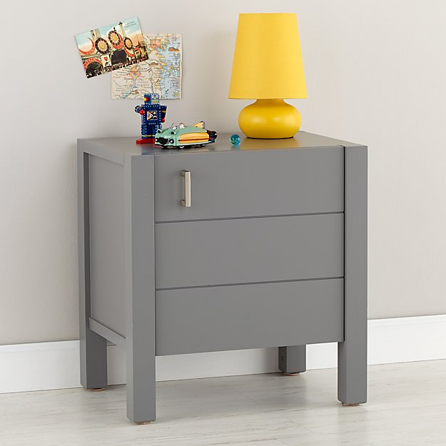 Uptown Nightstand (Grey)