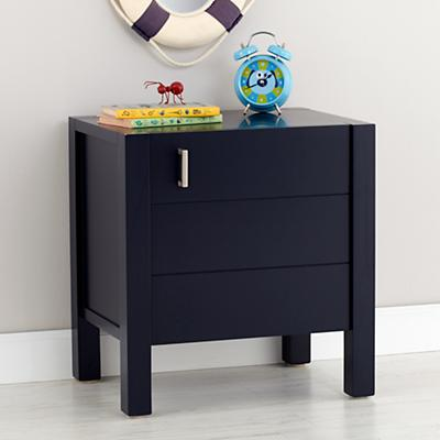 Uptown Nightstand (Midnight Blue)