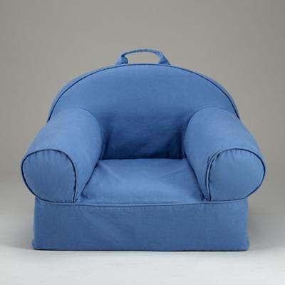 Blue Nod Chair
