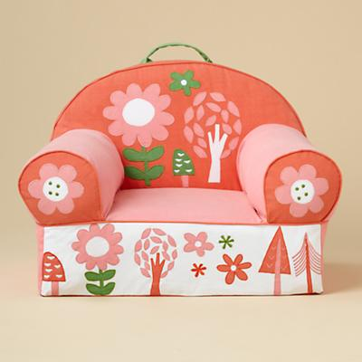 Flower Nod Chair Cover