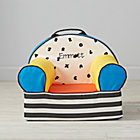 Small Personalized Alphabet Soup Nod Chair