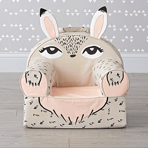 Small Baby Bunny Nod Chair Cover