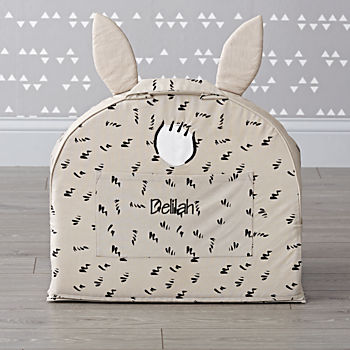 Small Personalized Baby Bunny Nod Chair