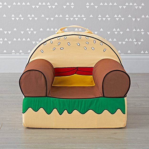 Small Burger Nod Chair Cover
