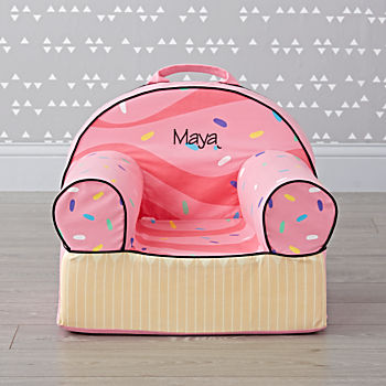 Small Personalized Cupcake Nod Chair
