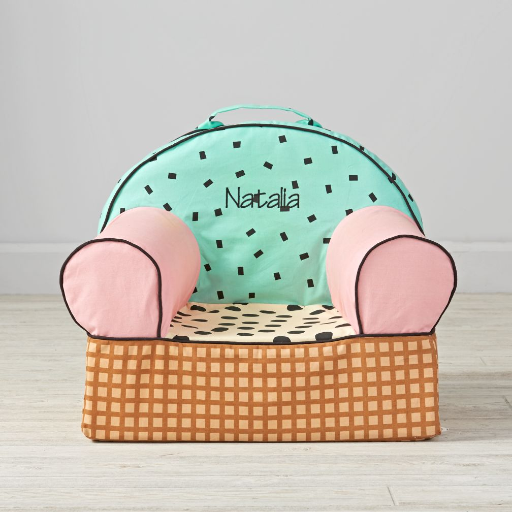 Personalized  Entry Level Chair Cover (Ice Cream)