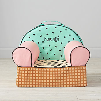 Small Personalized Ice Cream Nod Chair