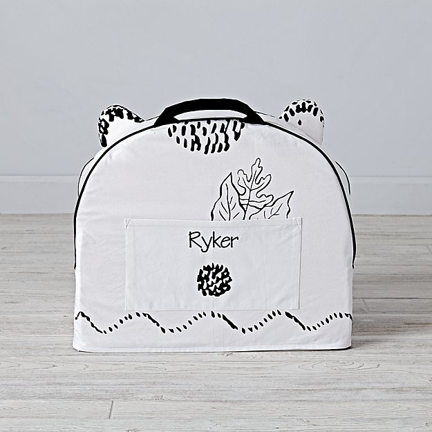 Small Personalized Roxy Marj Bear Nod Chair