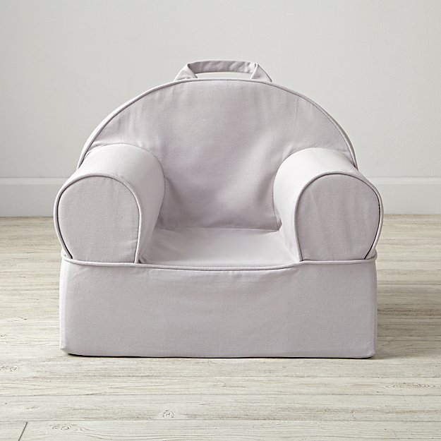 Small Grey Nod Chair Cover