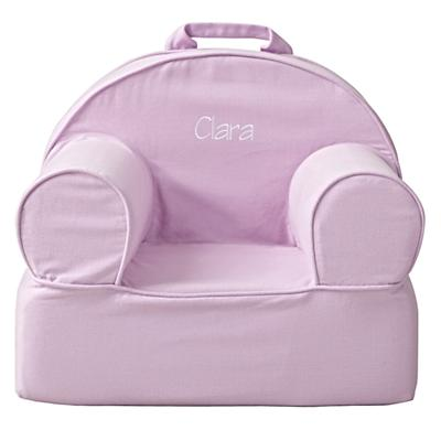 Small Personalized Lavender Nod Chair
