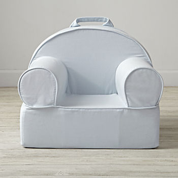 Small Light Blue Nod Chair Cover