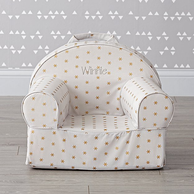 Small Personalized Sparkle Nod Chair