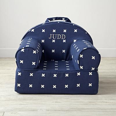 Small Personalized X-Print Nod Chair Cover
