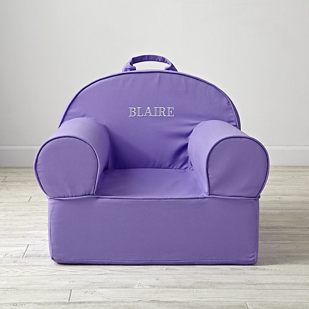 Large Personalized Purple Nod Chair