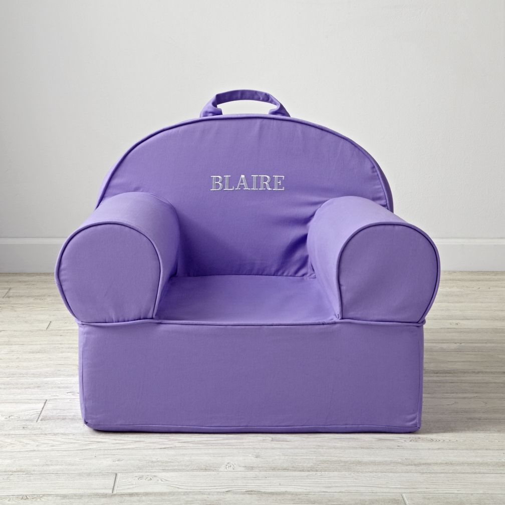 Large Purple Nod Chair