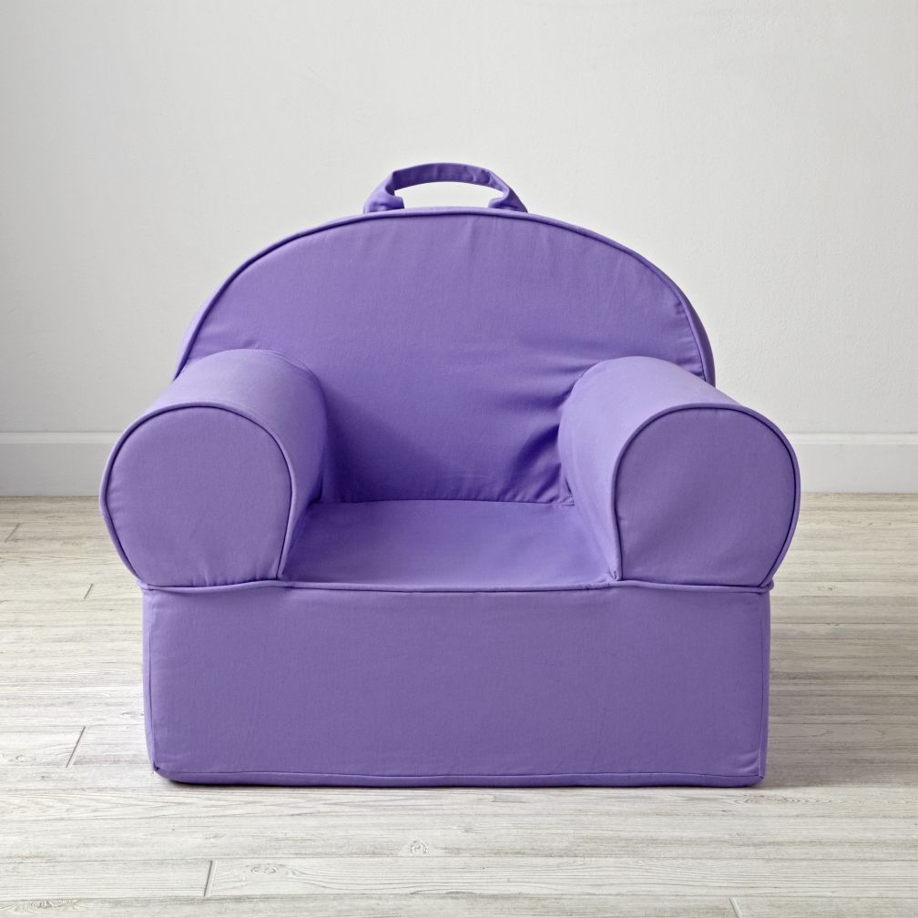 Large Purple Nod Chair Cover