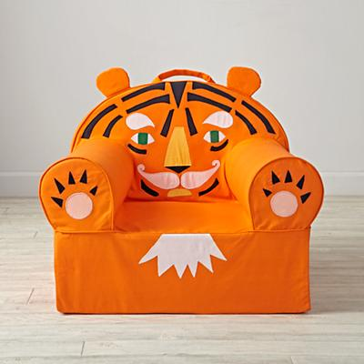 Large Tiger Nod Chair Cover