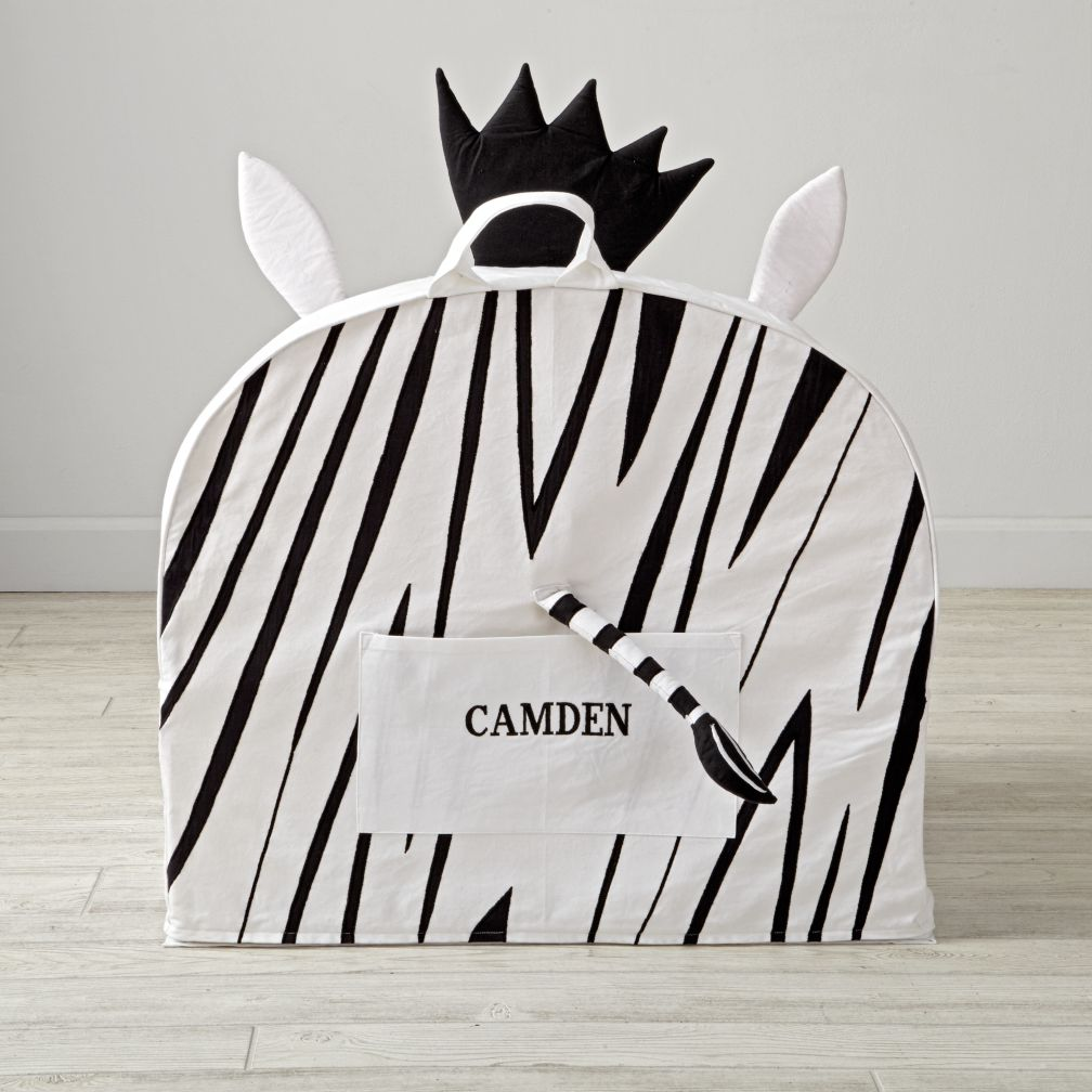 Personalized Executive Zebra Animal Nod Chair Cover