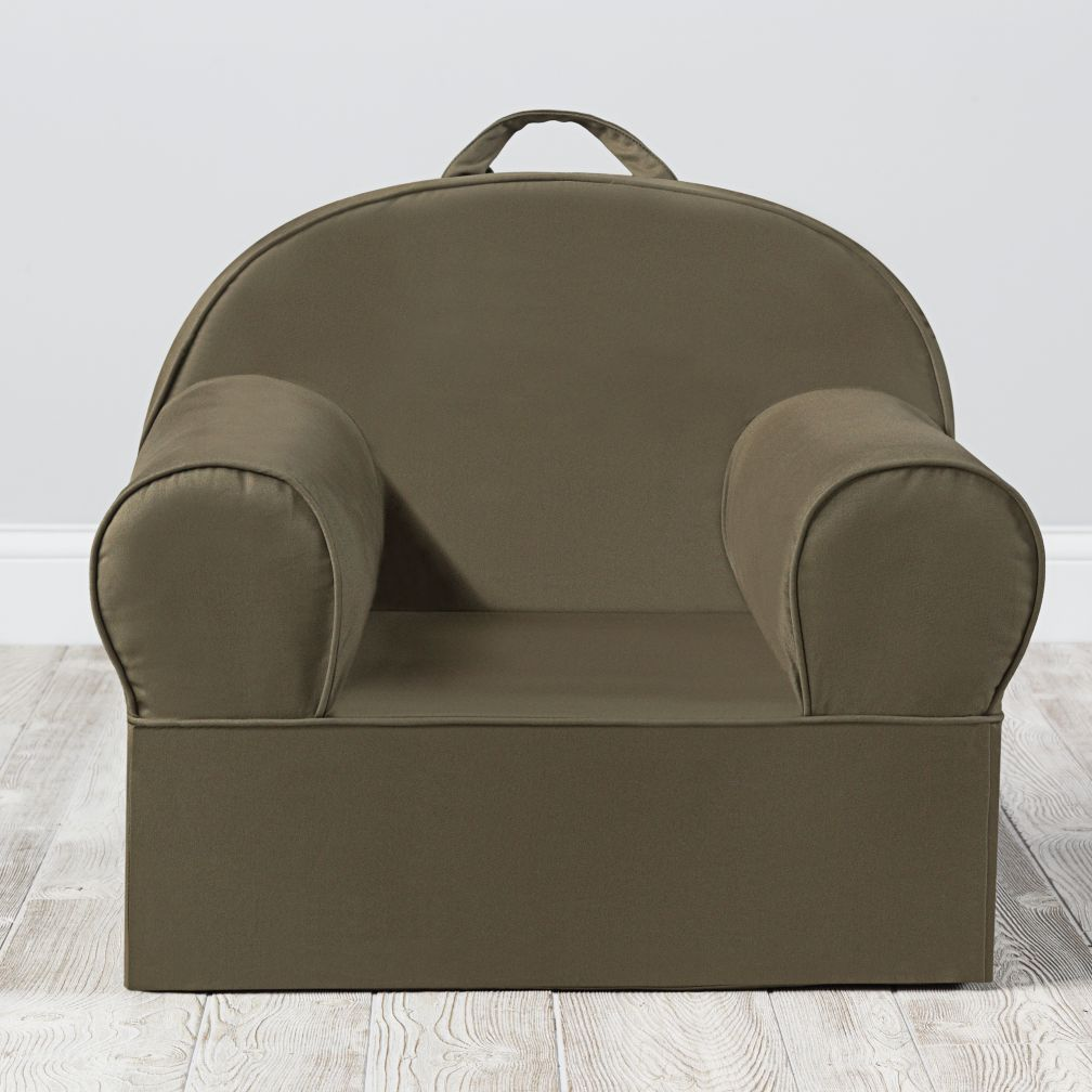 Large Dark Green Nod Chair Cover