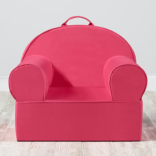 Large Dark Pink Nod Chair Cover