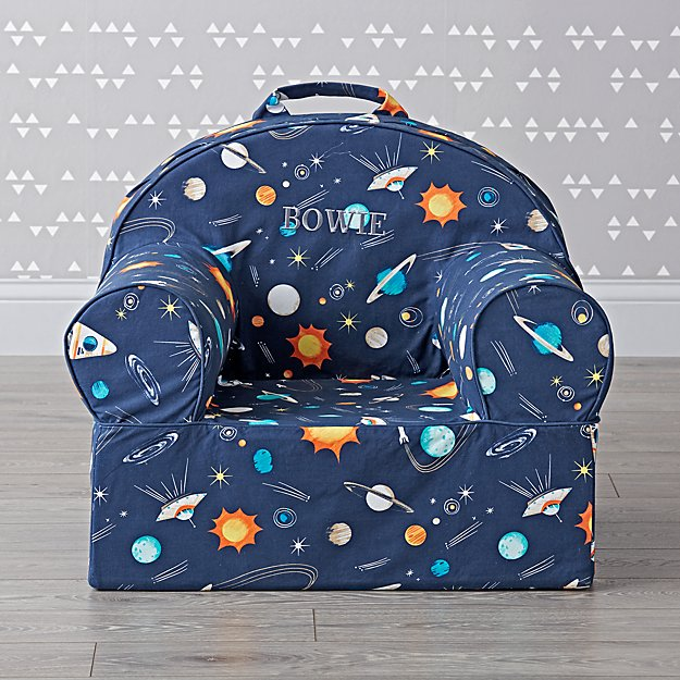 Large Personalized Space Nod Chair