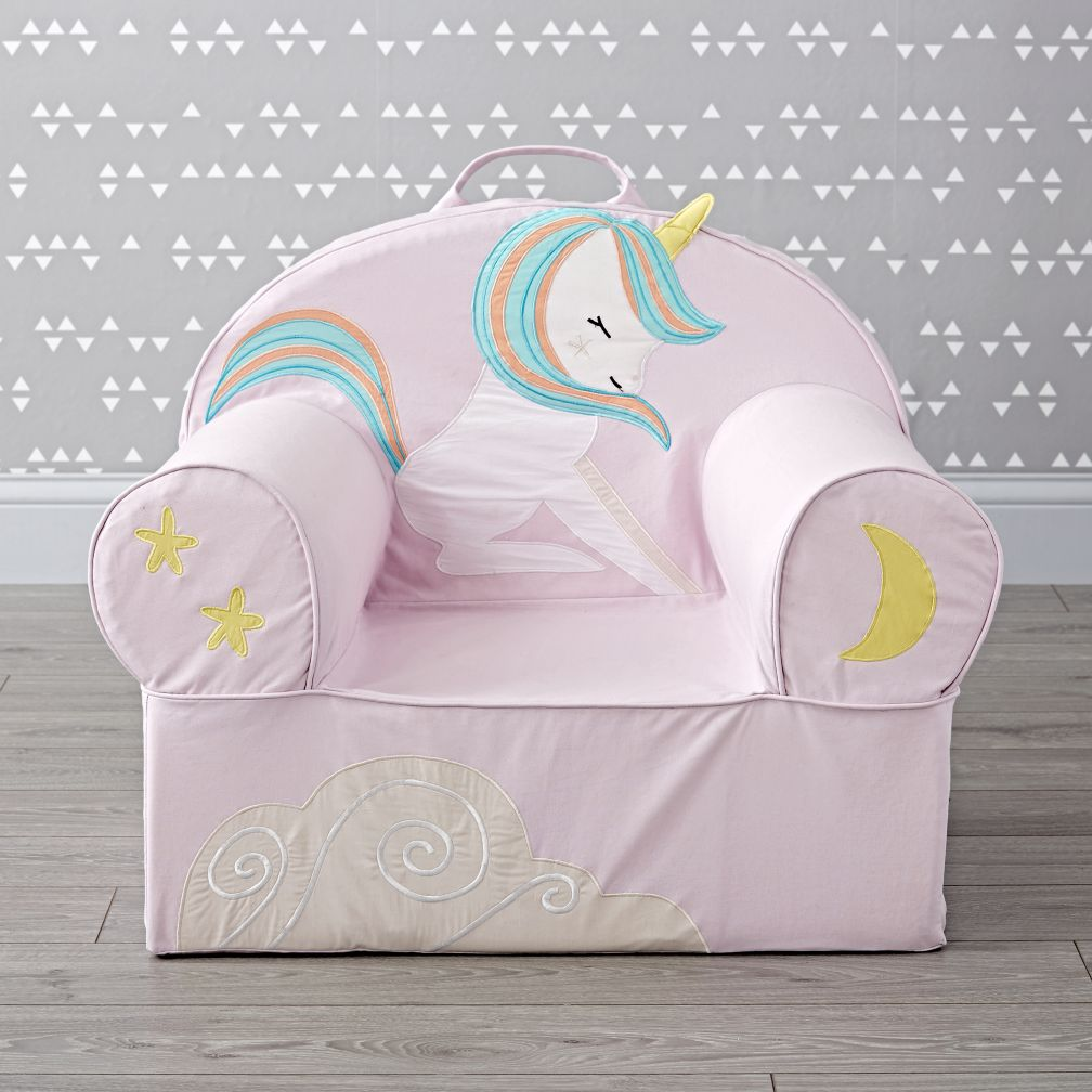 Large Young Unicorn Nod Chair The Land Of Nod