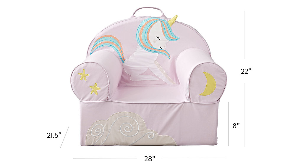 large young unicorn nod chair the land of nod. Black Bedroom Furniture Sets. Home Design Ideas