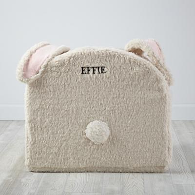 Large Personalized Bunny Nod Chair Cover