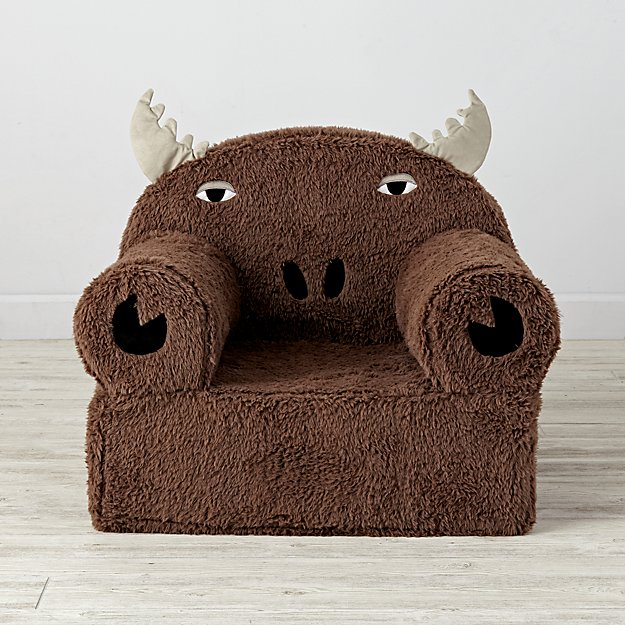Large Moose Nod Chair Cover