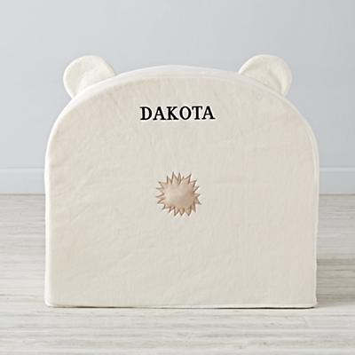 Executive Polar Bear Personalized Nod Chair