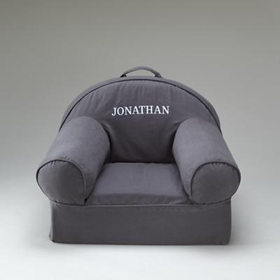 Personalized Grey Nod Chair Cover